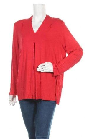 Γυναικεία μπλούζα Maggie T, Μέγεθος XXL, Χρώμα Κόκκινο, 95% βισκόζη, 5% ελαστάνη, Τιμή 7,27€