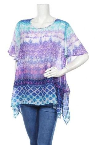 Γυναικεία μπλούζα Maggie T, Μέγεθος XL, Χρώμα Πολύχρωμο, Πολυεστέρας, Τιμή 4,97€