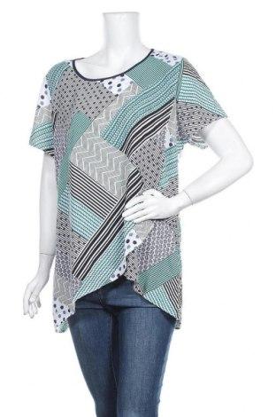 Γυναικεία μπλούζα Maggie T, Μέγεθος XL, Χρώμα Πολύχρωμο, Πολυεστέρας, Τιμή 5,55€