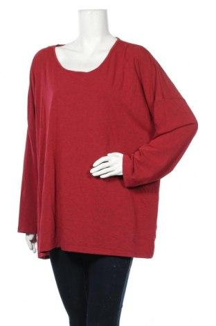 Γυναικεία μπλούζα Maggie T, Μέγεθος XXL, Χρώμα Κόκκινο, 65% πολυεστέρας, 30% βισκόζη, 5% ελαστάνη, Τιμή 5,20€