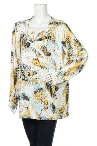 Γυναικεία μπλούζα Maggie T, Μέγεθος XXL, Χρώμα Πολύχρωμο, 95% πολυεστέρας, 5% ελαστάνη, Τιμή 5,85€