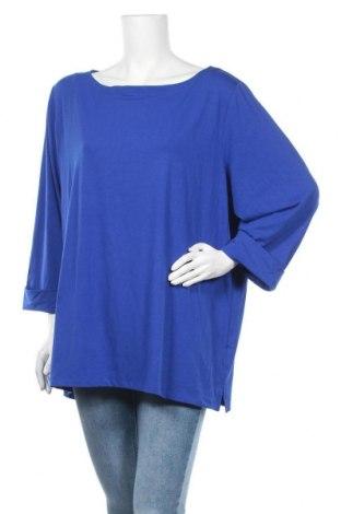 Γυναικεία μπλούζα Maggie T, Μέγεθος XL, Χρώμα Μπλέ, 65% πολυεστέρας, 30% βισκόζη, 5% ελαστάνη, Τιμή 12,67€