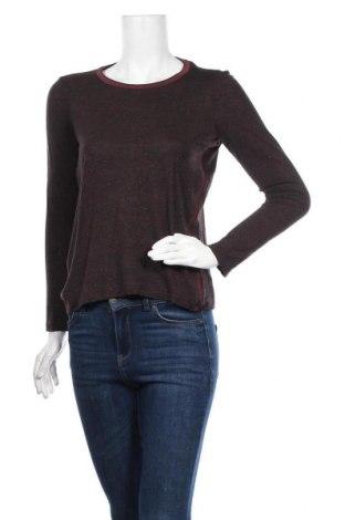 Γυναικεία μπλούζα Maison Scotch, Μέγεθος S, Χρώμα Καφέ, 98% βισκόζη, 2% πολυεστέρας, Τιμή 16,05€