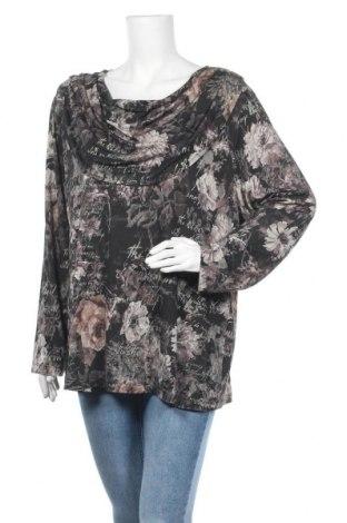 Γυναικεία μπλούζα Malva, Μέγεθος XXL, Χρώμα Πολύχρωμο, 94% βισκόζη, 6% ελαστάνη, Τιμή 4,32€