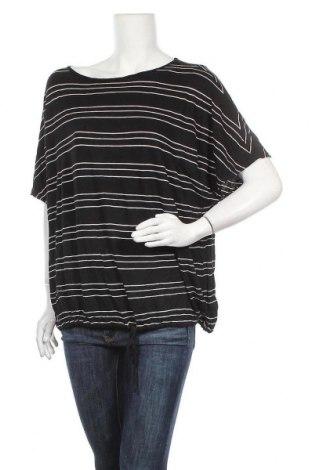 Γυναικεία μπλούζα Max Studio, Μέγεθος L, Χρώμα Μαύρο, 95% βισκόζη, 5% ελαστάνη, Τιμή 21,95€