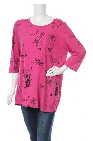 Γυναικεία μπλούζα Mia Moda, Μέγεθος XXL, Χρώμα Ρόζ , Βαμβάκι, Τιμή 11,11€