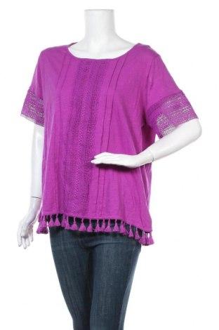 Γυναικεία μπλούζα Millers, Μέγεθος XXL, Χρώμα Βιολετί, Βαμβάκι, Τιμή 19,74€