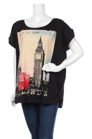 Γυναικεία μπλούζα Mink, Μέγεθος L, Χρώμα Μαύρο, Βαμβάκι, Τιμή 16,37€