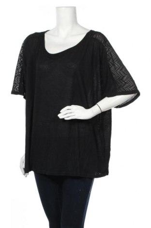 Γυναικεία μπλούζα Mink, Μέγεθος XL, Χρώμα Μαύρο, 94% πολυεστέρας, 6% ελαστάνη, Τιμή 8,28€