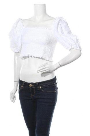 Bluză de femei Miss Selfridge, Mărime L, Culoare Alb, Bumbac, Preț 21,30 Lei