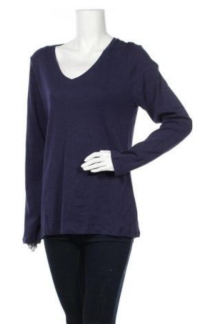 Γυναικεία μπλούζα Mix, Μέγεθος XXL, Χρώμα Μπλέ, Βαμβάκι, Τιμή 8,83€