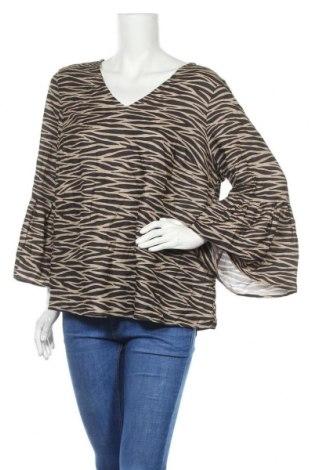 Γυναικεία μπλούζα Mix, Μέγεθος XL, Χρώμα Καφέ, Πολυεστέρας, Τιμή 11,59€