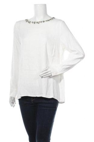 Γυναικεία μπλούζα More & More, Μέγεθος L, Χρώμα Λευκό, Βισκόζη, Τιμή 28,74€