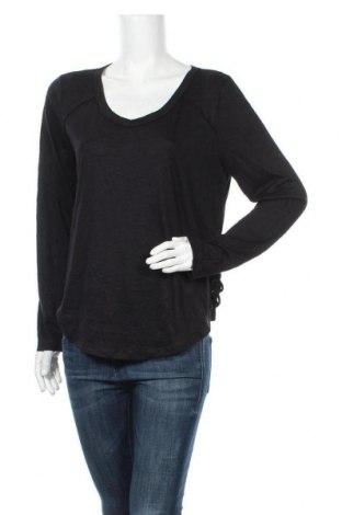 Дамска блуза Mudd, Размер XL, Цвят Черен, 64% полиестер, 36% вискоза, Цена 10,71лв.