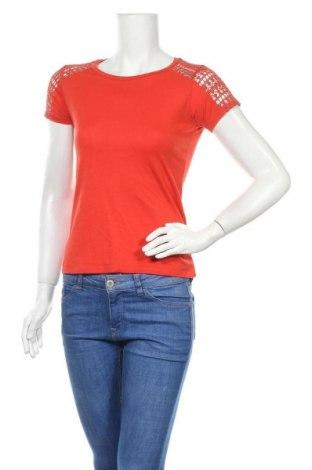 Γυναικεία μπλούζα Naf Naf, Μέγεθος S, Χρώμα Πορτοκαλί, Τιμή 10,52€