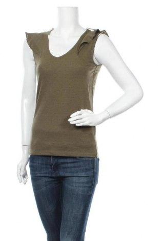 Γυναικεία μπλούζα Naf Naf, Μέγεθος XS, Χρώμα Πράσινο, Βαμβάκι, Τιμή 9,35€