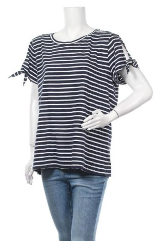 Γυναικεία μπλούζα Nautica, Μέγεθος XXL, Χρώμα Μπλέ, Βαμβάκι, Τιμή 10,52€