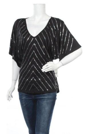 Γυναικεία μπλούζα New York & Company, Μέγεθος L, Χρώμα Μαύρο, Βισκόζη, Τιμή 17,28€