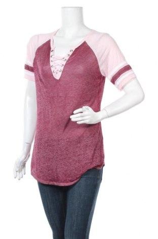 Γυναικεία μπλούζα No Boundaries, Μέγεθος XL, Χρώμα Ρόζ , 53% βαμβάκι, 47% πολυεστέρας, Τιμή 8,64€