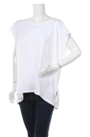 Γυναικεία μπλούζα Noisy May, Μέγεθος L, Χρώμα Λευκό, 50% βαμβάκι, 50% πολυεστέρας, Τιμή 13,15€