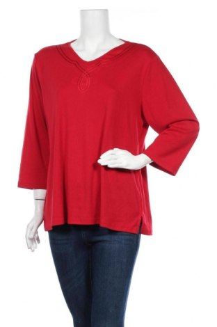 Γυναικεία μπλούζα Noni B, Μέγεθος XL, Χρώμα Κόκκινο, 65% πολυεστέρας, 35% βαμβάκι, Τιμή 10,49€