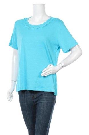 Γυναικεία μπλούζα Noni B, Μέγεθος XL, Χρώμα Μπλέ, 65% πολυεστέρας, 35% βαμβάκι, Τιμή 16,24€