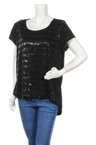 Γυναικεία μπλούζα Now, Μέγεθος XXL, Χρώμα Μαύρο, Πολυεστέρας, βισκόζη, Τιμή 9,87€