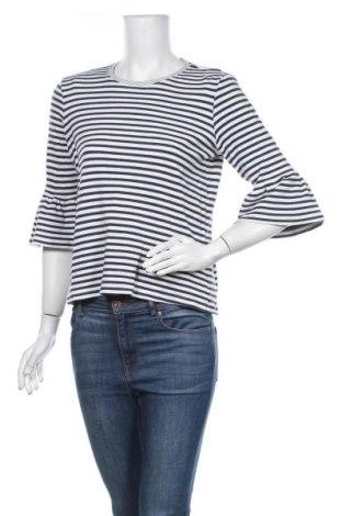 Γυναικεία μπλούζα Object, Μέγεθος M, Χρώμα Μπλέ, 95% βαμβάκι, 5% ελαστάνη, Τιμή 10,52€