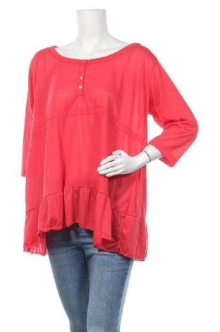 Γυναικεία μπλούζα Okay, Μέγεθος XL, Χρώμα Κόκκινο, Τιμή 9,87€
