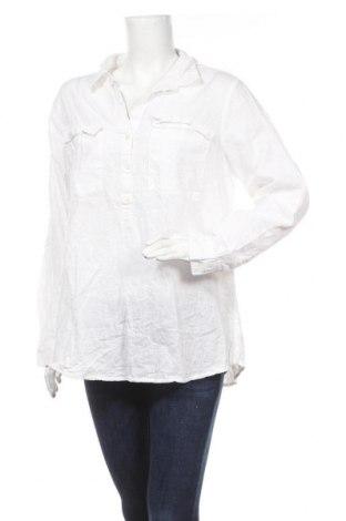 Дамска блуза Old Navy, Размер XL, Цвят Бял, 55% лен, 45% памук, Цена 18,90лв.