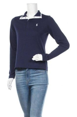 Γυναικεία μπλούζα Polo By Ralph Lauren, Μέγεθος S, Χρώμα Μπλέ, 90% πολυεστέρας, 10% ελαστάνη, Τιμή 24,32€