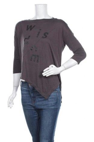Γυναικεία μπλούζα Q/S by S.Oliver, Μέγεθος S, Χρώμα Γκρί, Βισκόζη, Τιμή 9,38€