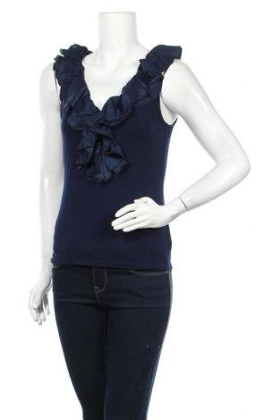 Дамска блуза Ralph Lauren, Размер S, Цвят Син, 96% вискоза, 4% еластан, Цена 35,91лв.