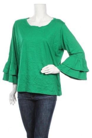 Дамска блуза Ralph Lauren, Размер XL, Цвят Зелен, Памук, Цена 37,80лв.