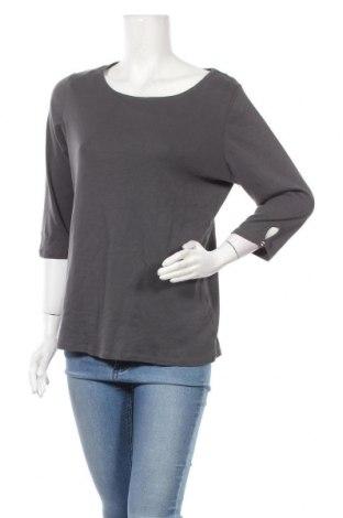 Γυναικεία μπλούζα Reitmans, Μέγεθος XL, Χρώμα Γκρί, Βαμβάκι, Τιμή 10,52€