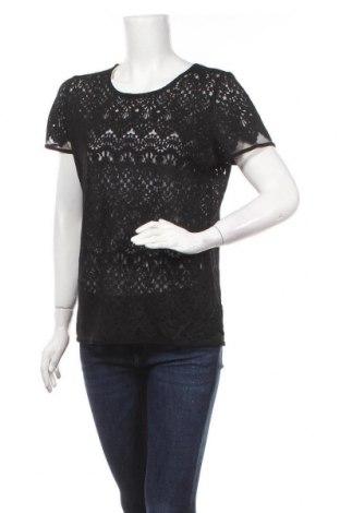 Γυναικεία μπλούζα Reitmans, Μέγεθος L, Χρώμα Μαύρο, 81% βισκόζη, 16% πολυεστέρας, 3% ελαστάνη, Τιμή 11,69€