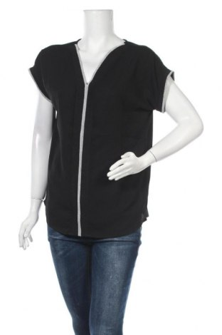 Дамска блуза Rick Cardona, Размер M, Цвят Черен, Полиестер, Цена 15,30лв.