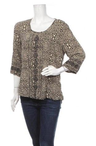 Γυναικεία μπλούζα Rivers, Μέγεθος XL, Χρώμα Μαύρο, Βισκόζη, Τιμή 11,69€