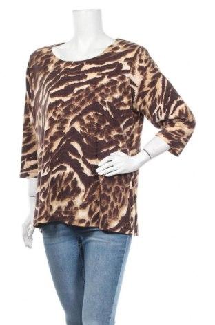 Γυναικεία μπλούζα Rivers, Μέγεθος XL, Χρώμα Καφέ, 95% πολυεστέρας, 5% ελαστάνη, Τιμή 10,49€