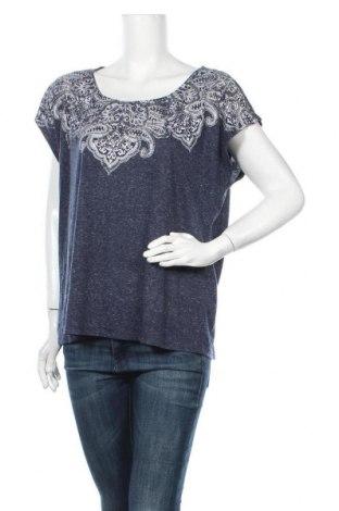 Γυναικεία μπλούζα Rivers, Μέγεθος XL, Χρώμα Μπλέ, 85% πολυεστέρας, 15% λινό, Τιμή 11,04€