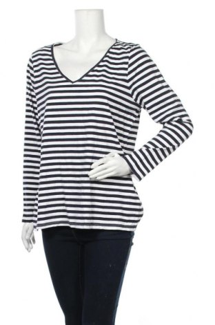 Γυναικεία μπλούζα Rivers, Μέγεθος XXL, Χρώμα Μπλέ, 95% βαμβάκι, 5% ελαστάνη, Τιμή 18,19€