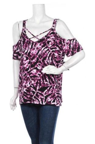 Γυναικεία μπλούζα Rock & Republic, Μέγεθος XL, Χρώμα Βιολετί, 95% βισκόζη, 5% ελαστάνη, Τιμή 11,11€