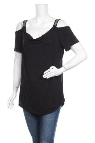 Γυναικεία μπλούζα Rock & Republic, Μέγεθος L, Χρώμα Μαύρο, 95% βισκόζη, 5% ελαστάνη, Τιμή 11,69€