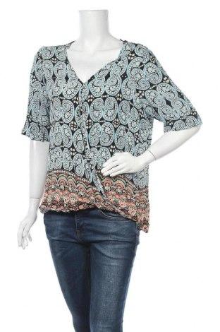 Γυναικεία μπλούζα Rockmans, Μέγεθος XL, Χρώμα Πολύχρωμο, Βισκόζη, Τιμή 10,49€