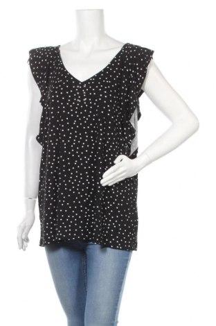 Γυναικεία μπλούζα Rockmans, Μέγεθος XL, Χρώμα Μαύρο, 95% βισκόζη, 5% ελαστάνη, Τιμή 10,49€