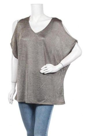 Γυναικεία μπλούζα Rockmans, Μέγεθος XL, Χρώμα  Μπέζ, Πολυεστέρας, ελαστάνη, Τιμή 10,39€