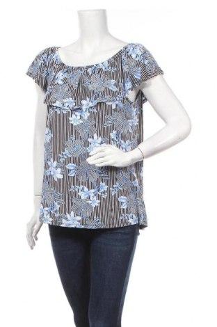 Γυναικεία μπλούζα Rockmans, Μέγεθος XL, Χρώμα Πολύχρωμο, Βισκόζη, ελαστάνη, Τιμή 11,72€