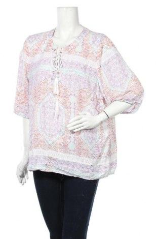 Γυναικεία μπλούζα Rockmans, Μέγεθος XXL, Χρώμα Πολύχρωμο, Πολυεστέρας, Τιμή 11,69€