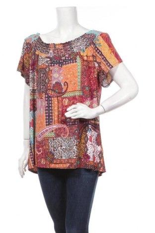 Γυναικεία μπλούζα Rockmans, Μέγεθος XL, Χρώμα Πολύχρωμο, Πολυεστέρας, ελαστάνη, Τιμή 11,04€