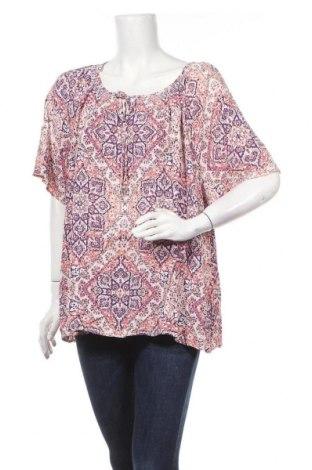 Γυναικεία μπλούζα Rockmans, Μέγεθος XL, Χρώμα Πολύχρωμο, Βισκόζη, Τιμή 11,72€